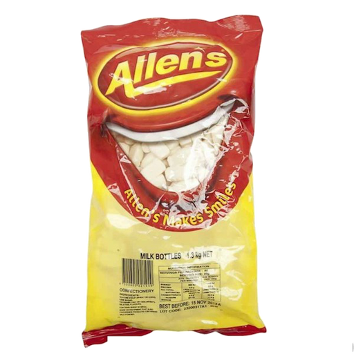 Allen's Milk Bottles 1.3kg bag