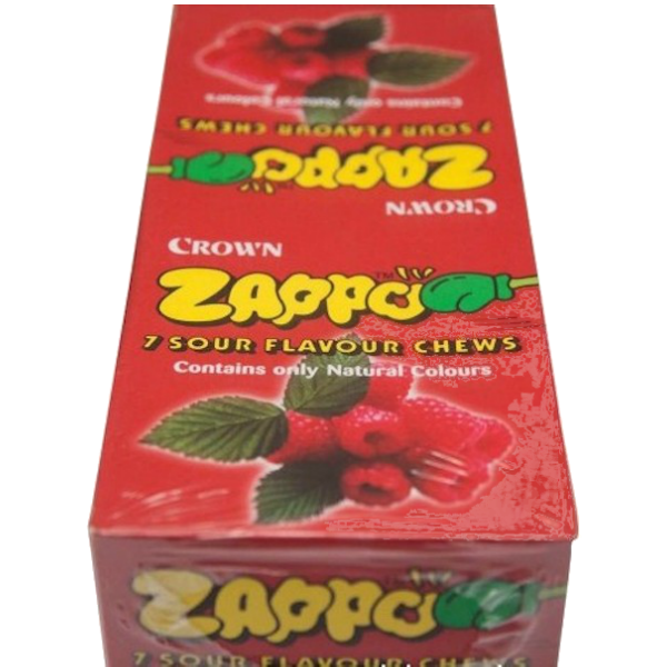 King Zappo Rasberry flavoured chews 60 pack