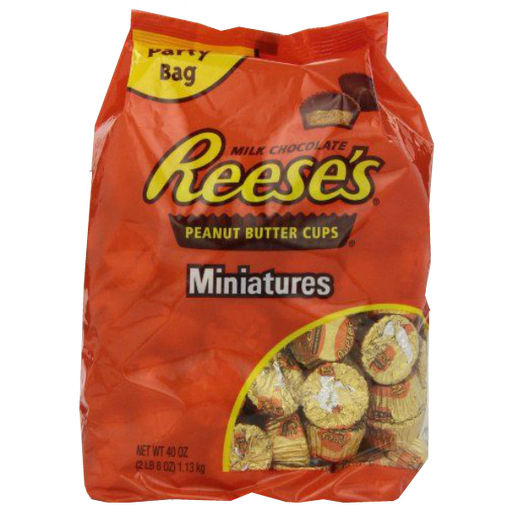 Hershey's Reeses Peanut butter cups mini 1.58kg 55 ounce