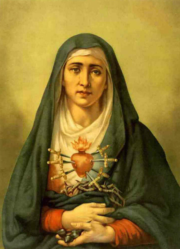 The Seven Sorrows of Mary - Poem