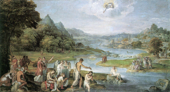 St. Andrew and the Baptism of Jesus