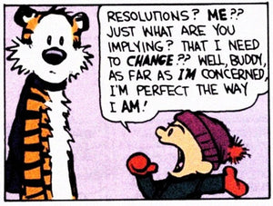 New Year's Resolutions and Confession