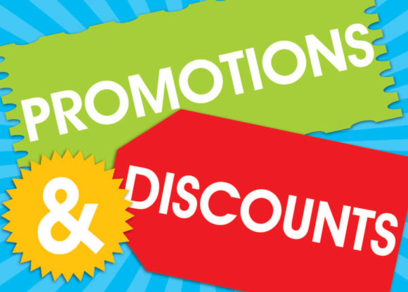 How to get huge discounts on our website!!