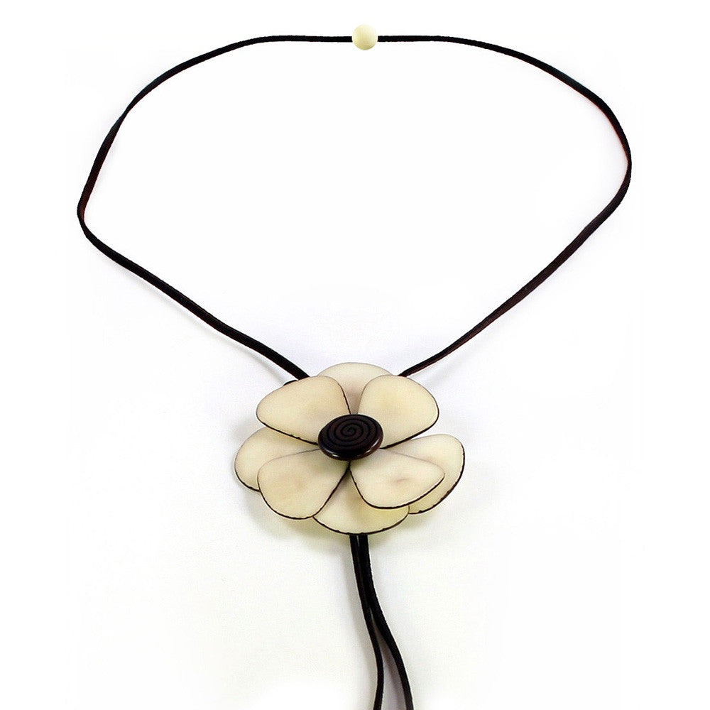 flower p necklace tag tagua htm real product orchid jewelry red seed