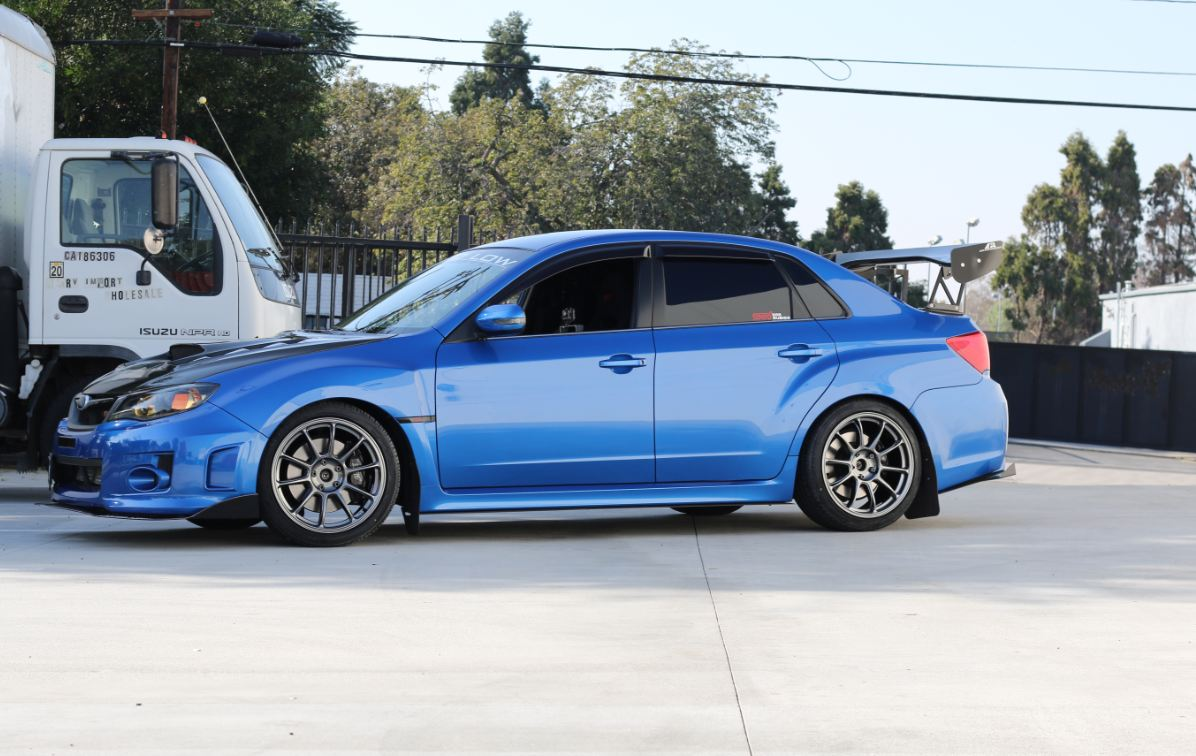 2014 Subaru Wrx Sti Sedan On Ambit Rt 8 Wheels Ambit Wheels