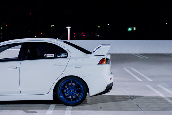 Mitsubishi Evo X On Rt8 Wheels Ambit Wheels