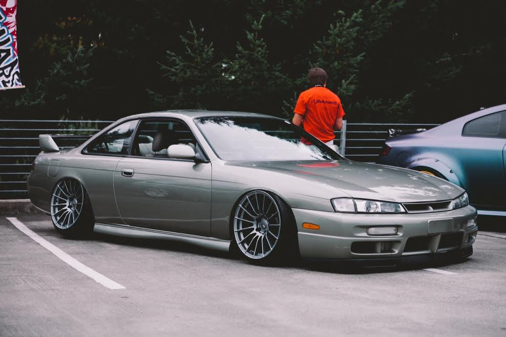 Nissan 240sx S14 Kouki On Ambit Re02 Ambit Wheels