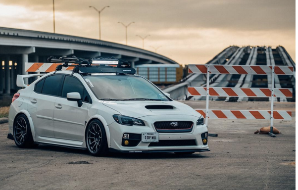 2015 Subaru WRX 18x10.5 +15 Ambit RT8 Wheels