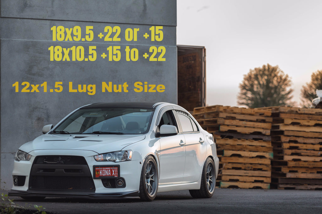 ambit ff4 wheel lancer evo x
