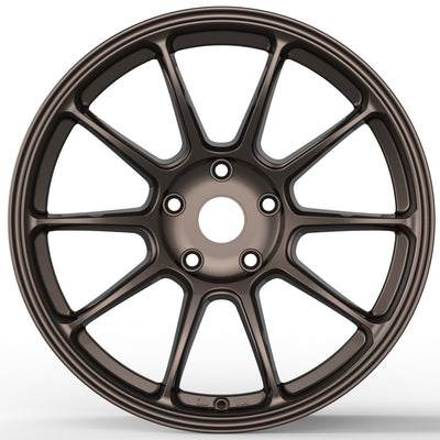 RT8-F 19x9.5 +38 (5x114.3) Monoblock Forged | Lancer EVO X
