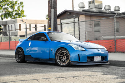 SR81 Stepped Lip Wheel | 18x9.5 | 18x10.5 +15 (5x114.3) | Nissan 350Z Z33 / 240SX