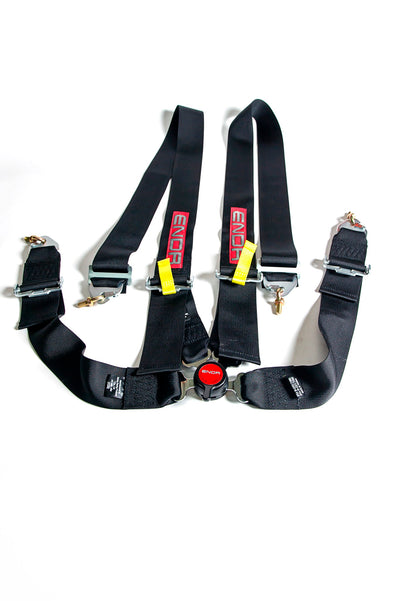 ENDR FIA 4 Point Camlock Racing Seat Belt Harness