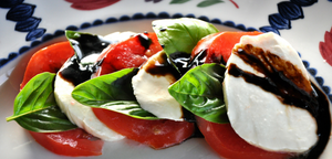 Springtime Caprese Salad:  A Beautiful Thing