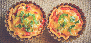 Summer Tomato Tartlets