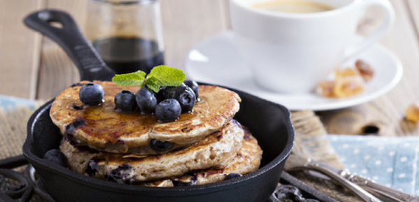 The Only Blueberry Pancake Recipe You'll Ever Need