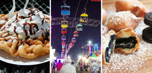 Funnel Cake and Deep Fried Oreos