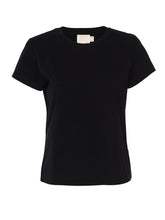 Load image into Gallery viewer, Organic Cotton Goldie Tee - Black