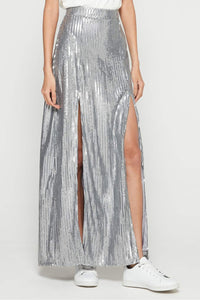 Mick Double Slit Skirt