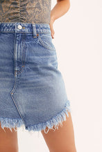 Load image into Gallery viewer, Bailey Denim Mini Skirt
