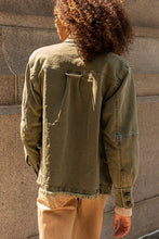 Load image into Gallery viewer, Harley Military Shirt Jacket - Army