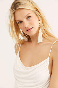 Disco Day Solid Cami - Ivory