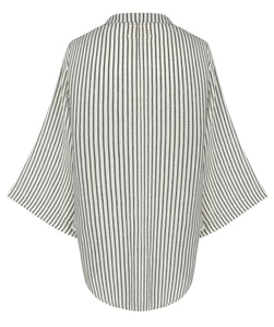Sade Top - Black Stripes