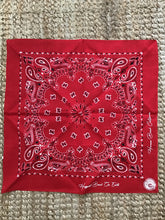 Load image into Gallery viewer, HB Bandana - Red