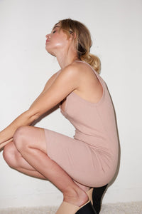 Chriselle Dress - Nude
