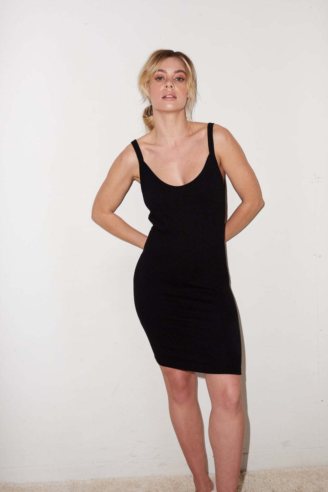 Chriselle Dress - Black