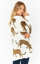 Load image into Gallery viewer, Hug Me Sweater - Tossed Leopard Knit