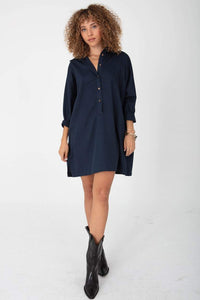 The Shirting Mini - Midnight Navy