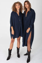 Load image into Gallery viewer, The Shirting Mini - Midnight Navy