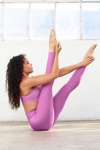 7/8 High-Waist Airlift Legging - Electric Violet