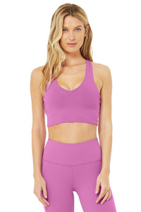 Real Bra Tank - Electric Violet