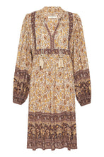 Load image into Gallery viewer, Sundown Boho Mini Dress - Spice