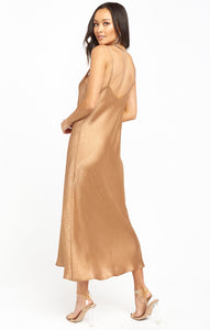 Zio Dress - Bronze Cheetah