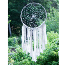 Load image into Gallery viewer, Large White Sun Dreamcatcher