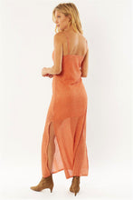 Load image into Gallery viewer, Down Four Midi Dress - Desert Rose