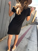 Load image into Gallery viewer, Blair Dress - Jet Black