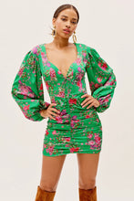 Load image into Gallery viewer, Wyatt Mini Dress - Kelly Green