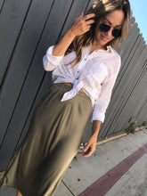 Load image into Gallery viewer, Mabel Skirt - Dirty Martini