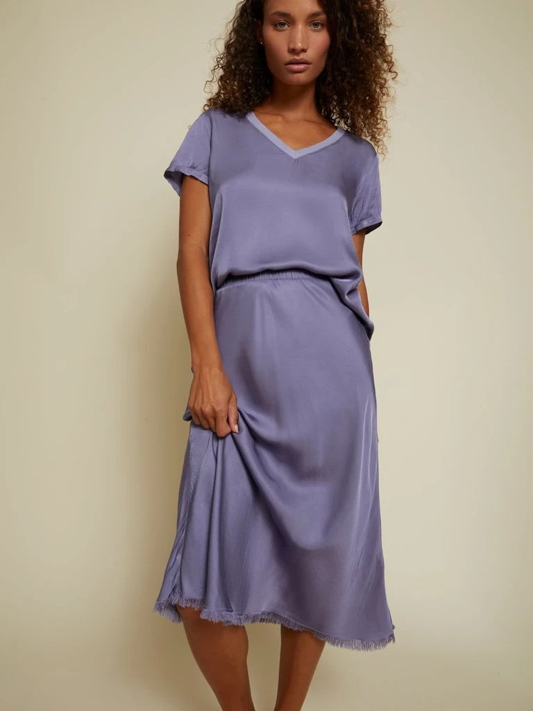 Mabel Skirt - Purple Sage