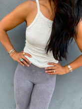 Load image into Gallery viewer, Good Karma Legging - Washed Grey