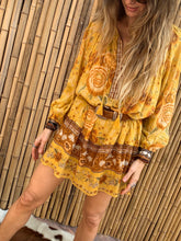Load image into Gallery viewer, Mystic Tunic Dress - Sunflower