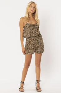 Blissed Out Woven Tank - Mocha