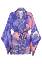 Load image into Gallery viewer, Luna Short Robe - Purple