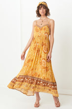 Load image into Gallery viewer, Mystic Strappy Maxi Dress - Sunflower