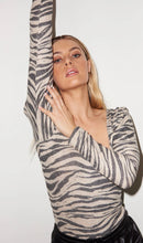 Load image into Gallery viewer, Lou Bodysuit - Zebra