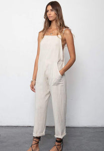 Some Beachy Overalls - Natural