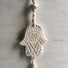 Load image into Gallery viewer, Hamsa Tassel Wall Charm